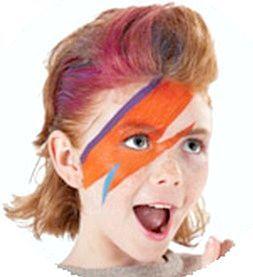 Ось такий аквагрим супергероя - просто і яскраво! Фото з сайту http://3ladies.ru/