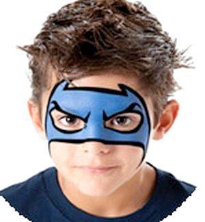 Аквагрим Бетмена дуже йде спритним хлопчакам. Фото з сайту http://3ladies.ru/