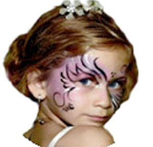 За допомогою аквагриму створюємо модний нині образ Феї. Фото з сайту http://3ladies.ru/