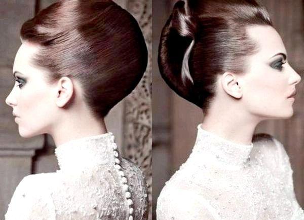 Сувора, але в той же час святкова зачіска. Фото з сайту fchannel.ru