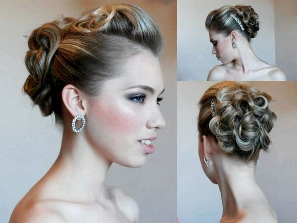 Фото - Бути принцесою на балу, або зачіска на випускний на середні волосся