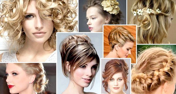 Різні варіанти зачісок на середні волосся. Фото з сайту sovet.passion.ru