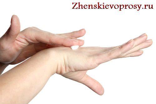 облазить шкіра на пальцях рук