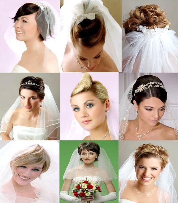 Фата і зачіска - поєднання. Фото з сайту missvi.ru