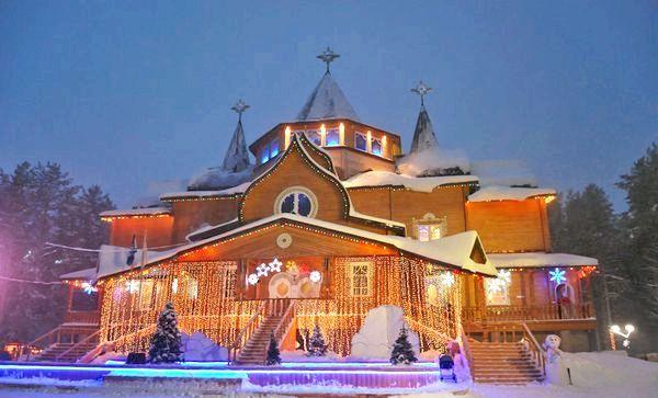 Резиденція справжнього діда Мороза. Фото з сайту tour-ethno.ru