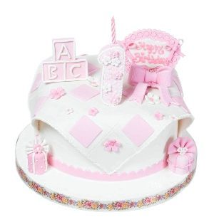 Шикарний дизайнерський торт надовго залишиться в пам'яті і в батьків, і у запрошених на торжество