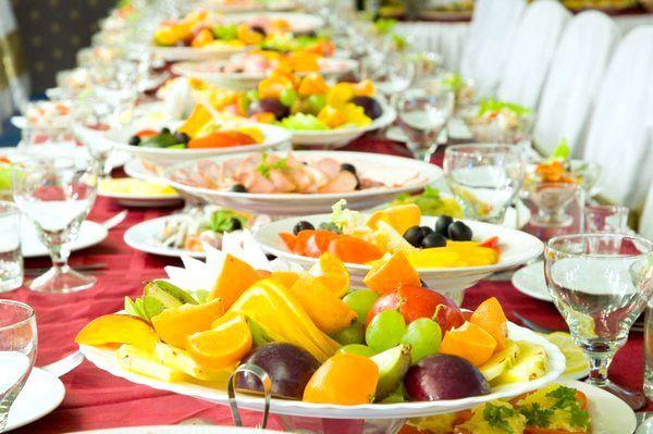 Фото - Ідеальне весільне меню: різноманітність, естетика, неповторний смак!