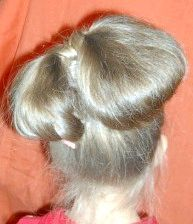 бант з волосся фото