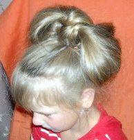 зачіска бант фото