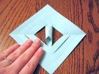 Фото - Як з паперу зробити сніжинку?