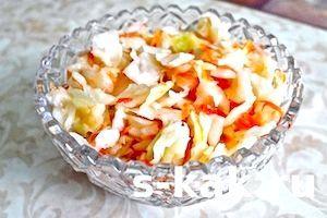 Як приготувати маринований салат провансаль