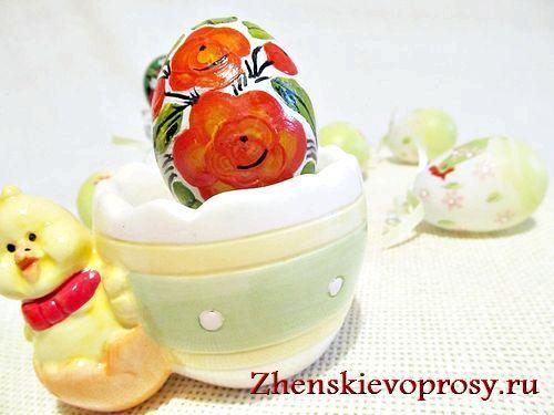 Фото - Як розписати пасхальне яйце?