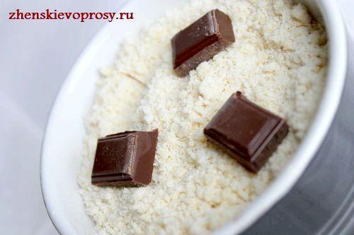 додати шматочки шоколаду