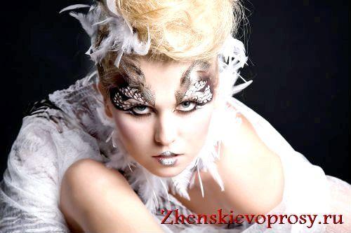 Фото - Як зробити фантазійний макіяж?