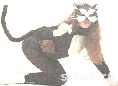 Як зробити костюм кішки або кота
