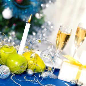 Фото - Як прикрасити новорічний стіл?