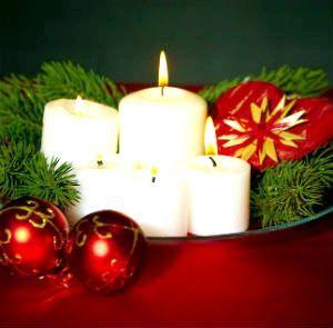 святкові свічки
