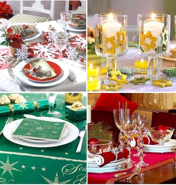 Фото - Як прикрасити стіл до нового року оригінально і швидко