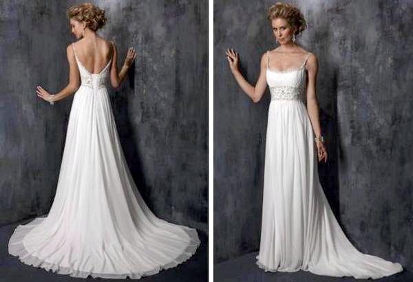 Ніжно і стильно - весільна сукня в стилі ампір. Фото з сайту svadbann.ru