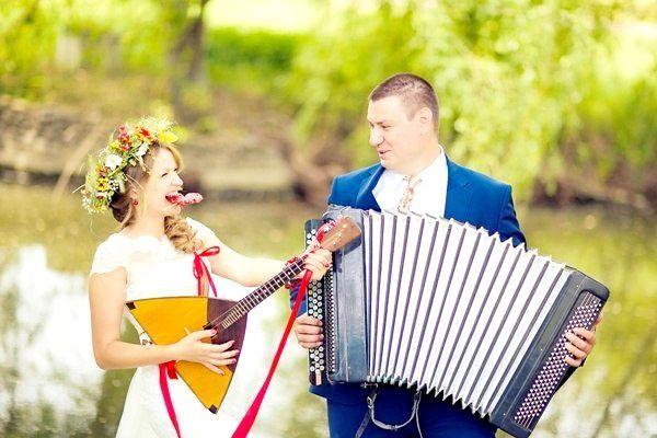 Фото - Який російський не любить повеселитися, або весілля в російській стилі