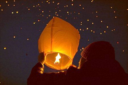 Фото - Китайські ліхтарики своїми руками, або небесна свічка