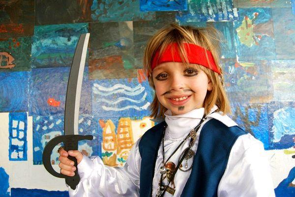 Піратська тема - одна з кращих для дітей