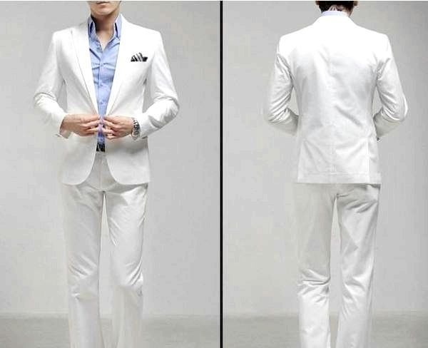 Білий костюм - верх елегантності. Фото з сайту clothes33.ru