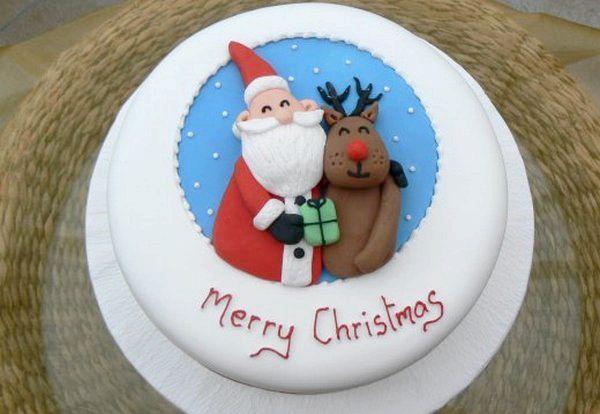 Фото - Гарний і смачний торт на новий рік