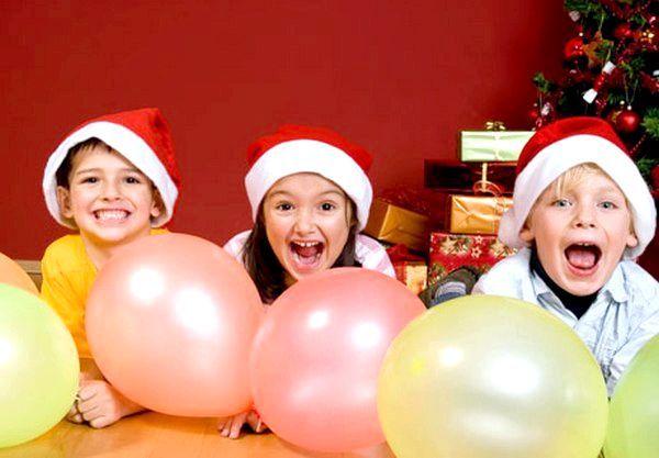 Новорічні ігри для дітей. Фото з сайту nanya.ru
