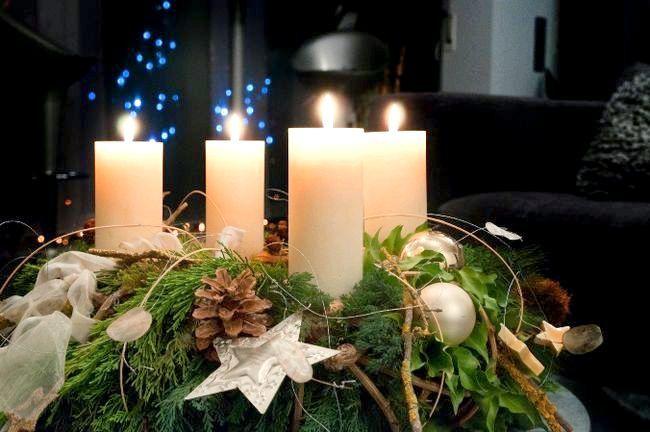 Свічки завжди додають особливу атмосферу чарівництва