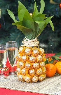 Оригінальна ідея - шампанське ананас. Фото з сайту at5.ru