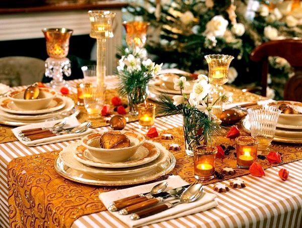 Сервірування новорічного столу 2016. Фото з сайту totul.md