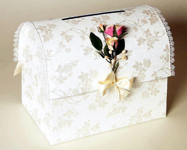 Фото - Перша скарбничка молодої сім'ї, або cундучок для грошей на весілля своїми руками