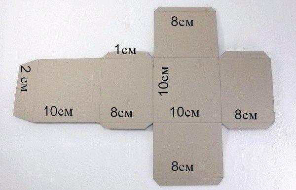 Схема коробочки своїми руками. Фото з сайту womanlife-online.com