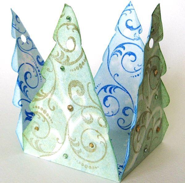 Коробка-ялинка своїми руками. Фото з сайту abusinka.blogspot.com