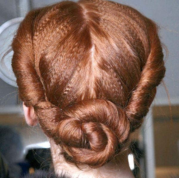 Зачіска з джгутиками - просто і красиво. Фото з сайту besthairstylesideas.info