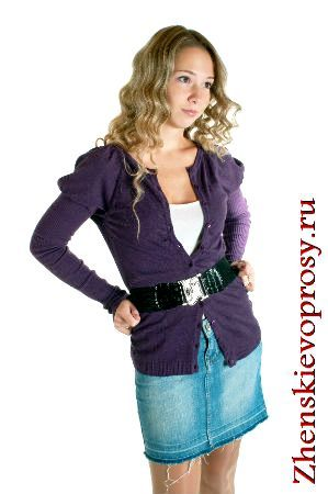 Фото - З чим носити джинсову спідницю?