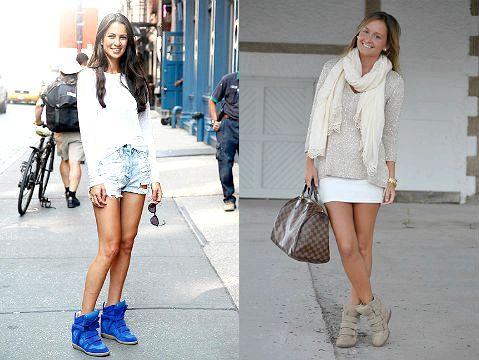 Фото - З чим носити снікерси?