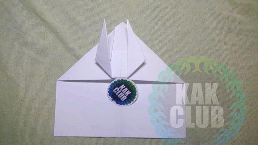 Літаки з паперу крок 2
