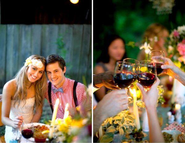Фото - Сценарій весілля у вузькому колі: ресторан пишніше - рідний дім тепліше
