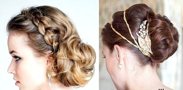 Коси в зачісці - оригінально і естетично. Фото з сайту krasaru.ru