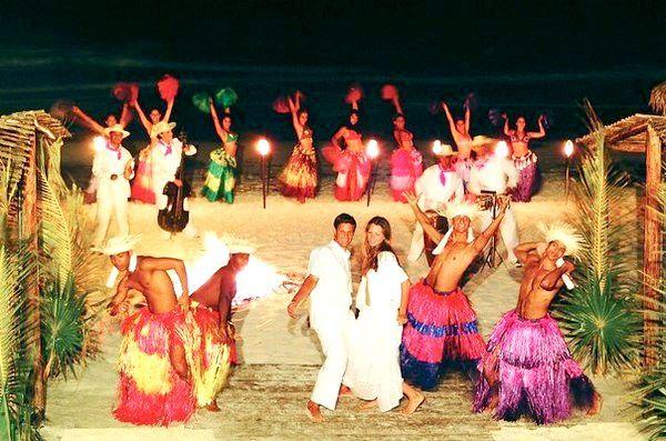 Весільне шоу в кубинському стилі. Фото з сайту vk.com