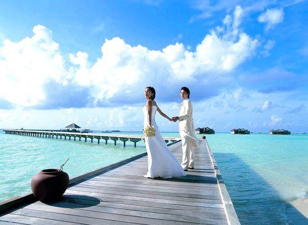 Фото - Весілля на Мальдівах: острівна романтика