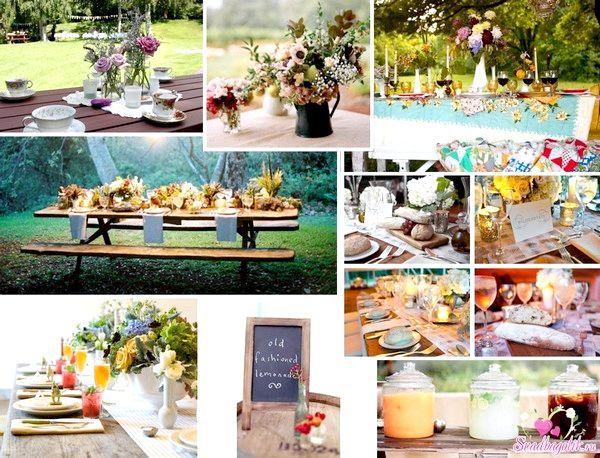 Шикарне весілля на природі. Фото з сайту svadbagolik.ru