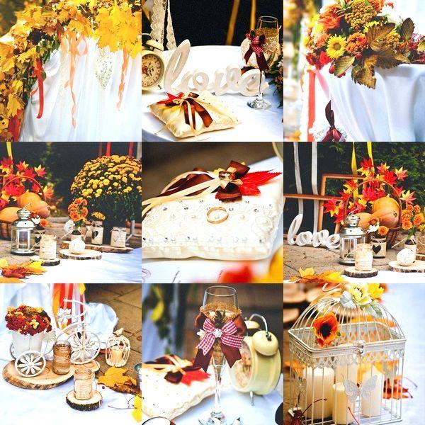 Осення весілля: декор. Фото: yakimenkoanton - Fotolia.com