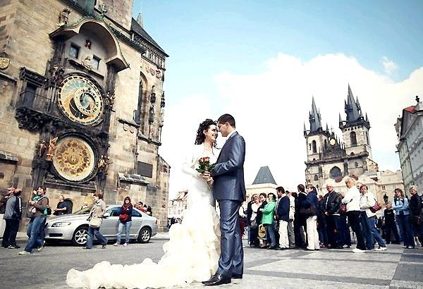 Фото - Весілля в чехії. Казкова церемонія в самому серці старовинної європи