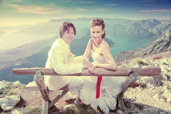 Весілля в Чорногорії - в оточенні гір. Фото з сайту http://pssp.ru