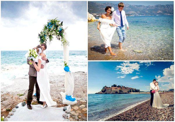 Незабутнє весілля на березі Адріатичного моря. Фото з сайту vk.com