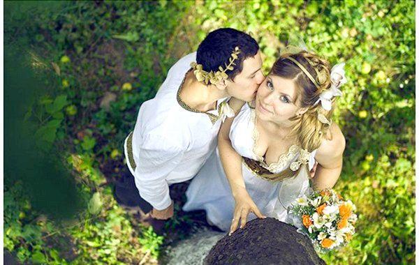 Фото - Весілля в грецькому стилі, або свято богів