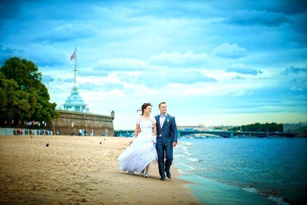 Фото - Весілля в санкт-Петербурзі на землі і на воді